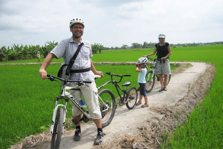 mekong delta cycling tour