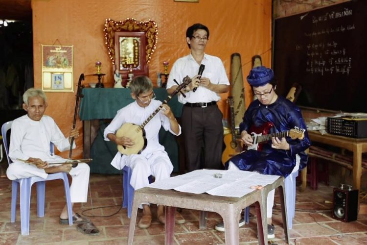 south vietnam traditional song