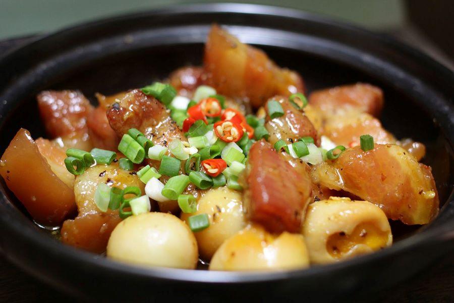 stewed pork tet in vietnam