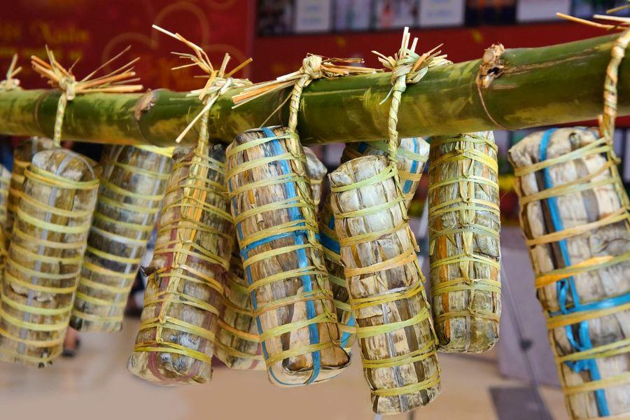 tet cake vietnam lunar new year