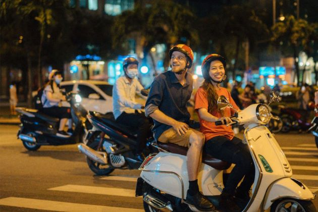 vespa tour operated by local tour operator in saigon
