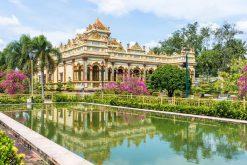 vinh trang pagoda in mekong delta