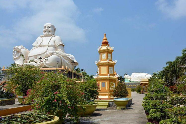 vinh trang pagoda mekong delta tour